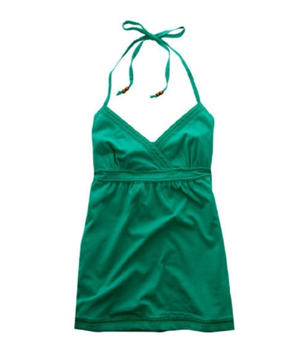 Aeropostale Womens V-neck Tank Top brightgreen S