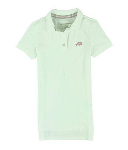 Aeropostale Womens Aero Polo Shirt bleachpink S