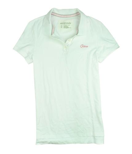 Aeropostale Womens Aero Polo Shirt bleachpink L