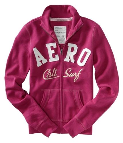 Aeropostale Womens Aero Cali Surf Sweatshirt veryberrypink S