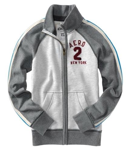 Aeropostale Womens Aero #2 New York Zipper Sweatshirt lighties M
