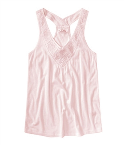 Aeropostale Womens Loose Fitted Tank Top peachs XS