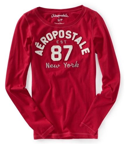 Aeropostale Womens Est 87 Embellished Graphic T-Shirt 610 XS