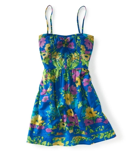Aeropostale Womens Mid Thigh Floral Sundress 477 XS