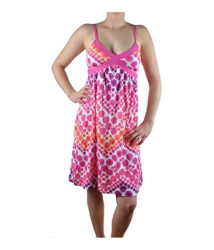 Aeropostale Womens Flowered Sundress pinkraspberry XS