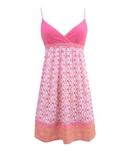 Aeropostale Womens Raspberry Summer Sundress raspberrypink S