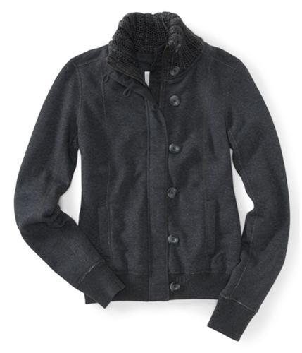 Aeropostale Womens Zip/ Knit Sweater 017 XS