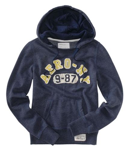 Aeropostale Womens Aero Ny Hoodie Sweatshirt navynightblue XS