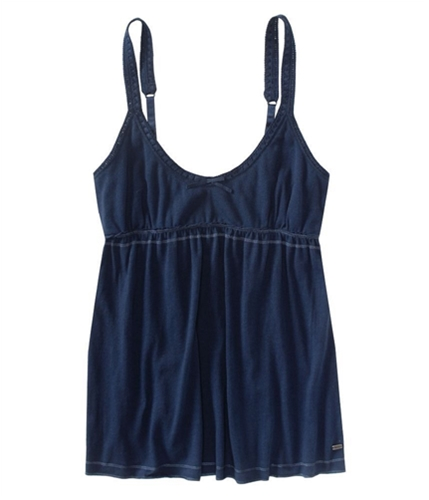 Aeropostale Womens Solid Front Bow Lacy S Cami Tank Top navini XS