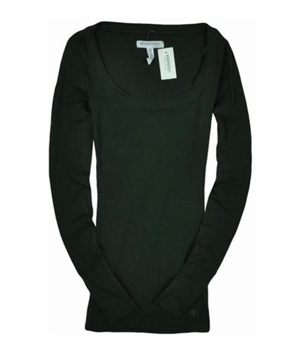 Aeropostale Womens Long Sleeve A87 Graphic T-Shirt greendark XS