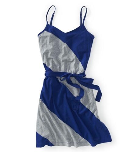 Aeropostale Womens Stretch V-neck Sundress cobalt S