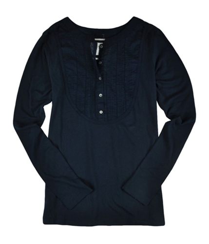Aeropostale Womens Aero Henley Shirt navynightblue M