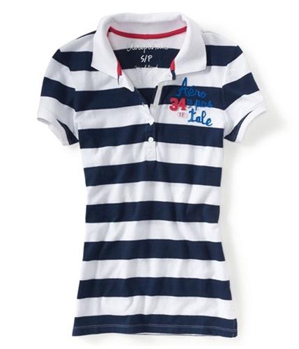 Aeropostale Womens 34th St. Ny Polo Shirt 404 S