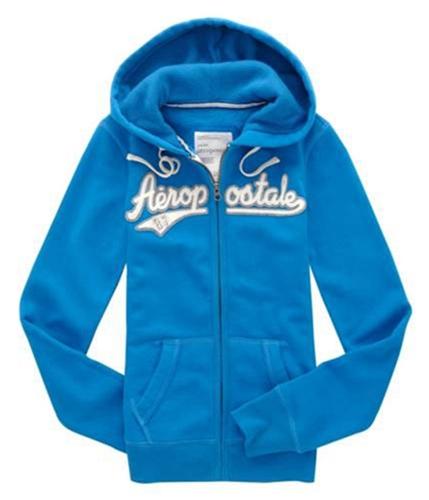 Aeropostale Womens Zip Up 87 Hoodie Sweatshirt frictio XS