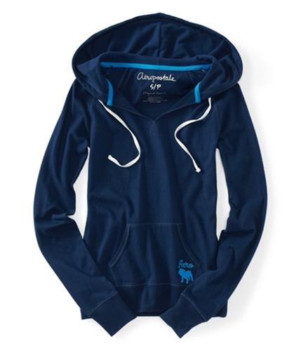 Aeropostale Womens Long Sleeve Hoodie Sweatshirt 413 XS