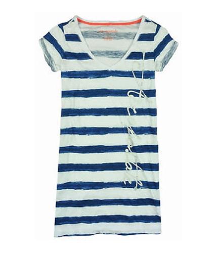 Aeropostale Womens Aero Pajama Sleep T-shirt lunablue S