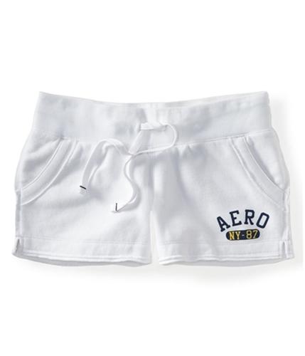 Aeropostale Womens Lounge Athletic Sweat Shorts bleach XS