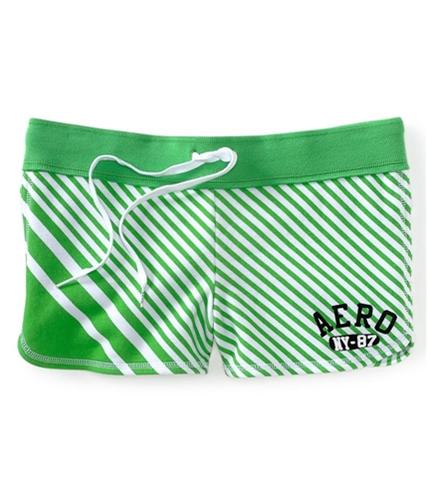 Aeropostale Womens Aero Ny 87 Stripe Athletic Sweat Shorts 887 XS