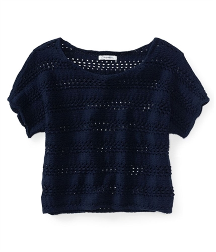 Aeropostale Womens Cropped Ted Knit Sweater 404 XS