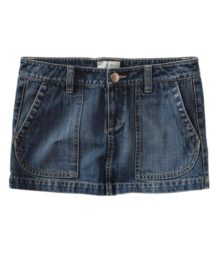 Aeropostale Womens Jeankirt Mini Skirt blues 00