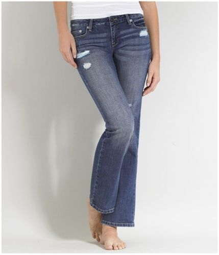 Aeropostale Womens Montauk Skinny Fit Jeans montauk 9/10x32