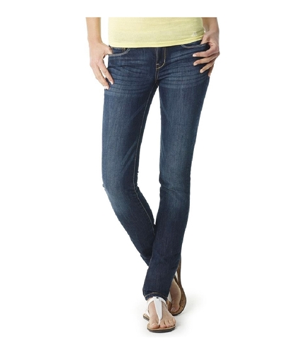 Aeropostale Womens Super Low Rise Ultra Skinny Fit Jeans 189 3/4x32