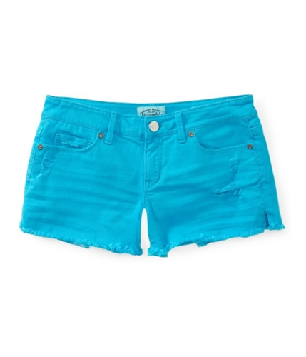 Aeropostale Womens Colored Cut-Off Shorty Casual Denim Shorts 789 11/12