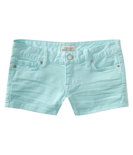 Aeropostale Womens 5 Pocket Casual Mini Shorts bluemi 3/4