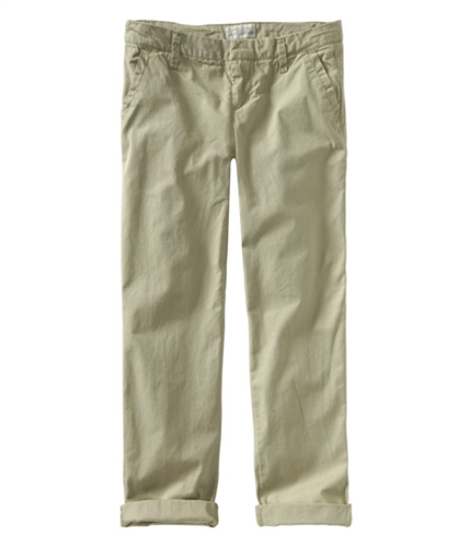 Aeropostale Womens Rolled Boyfriend Casual Chino Pants burlap 1/2x32