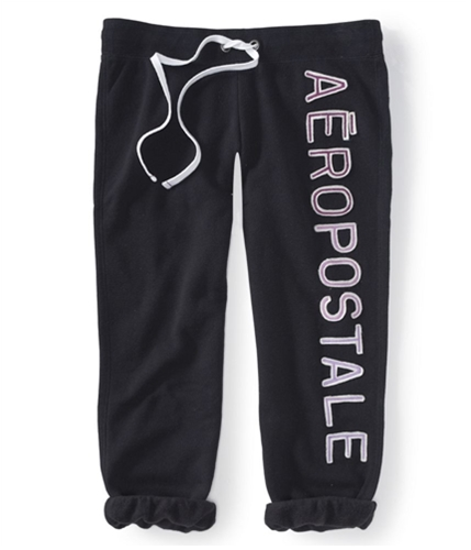 Aeropostale Womens Heritage Cropped Casual Trouser Pants 001 XS/24