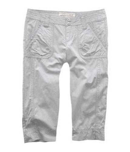 Aeropostale Womens Railroad Stripe Casual Trouser Pants milk 3/4x24