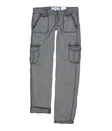 Aeropostale Womens Khaki Casual Cargo Pants pelicangray 1/2x32