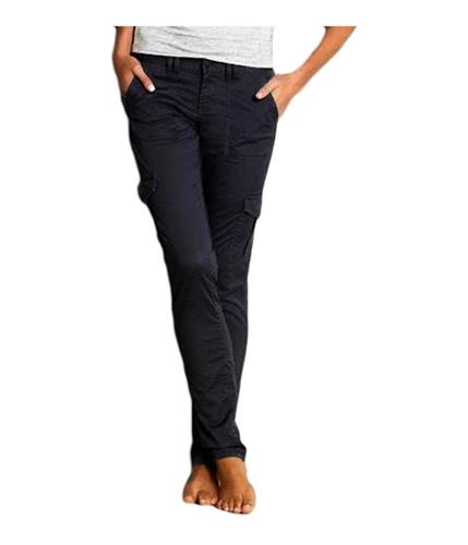 Aeropostale Womens Ultra Skinny Casual Cargo Pants blackg 00x32