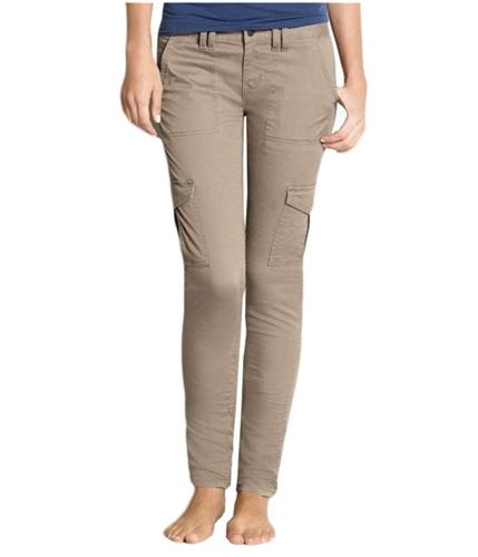 Aeropostale Womens Chino Khaki Casual Cargo Pants beigebrown 00x32