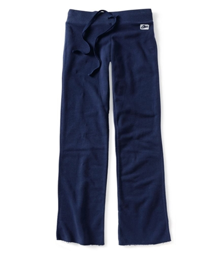 Aeropostale Womens Cuffed Lounge Casual Trouser Pants navyniblue 2XL/24