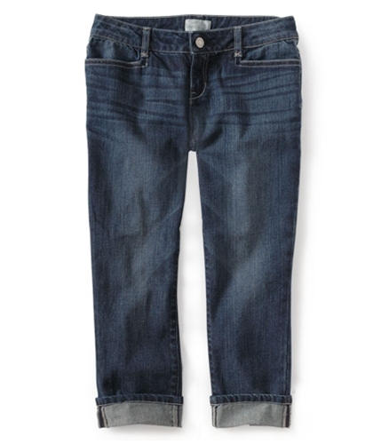 Aeropostale Womens Zippered Fly Denim Regular Fit Jeans 027 00x24