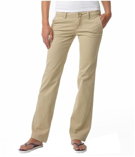 Aeropostale Womens Basic Casual Trouser Pants darkst 00x32