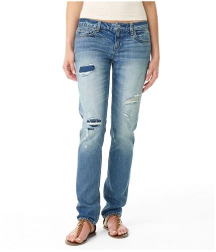 Aeropostale Womens Bayla Low Rise Skinny Fit Jeans medium 0x32