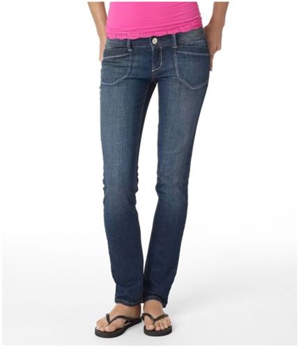 Aeropostale Womens Low Rise Skinny Fit Jeans mississ 00x32