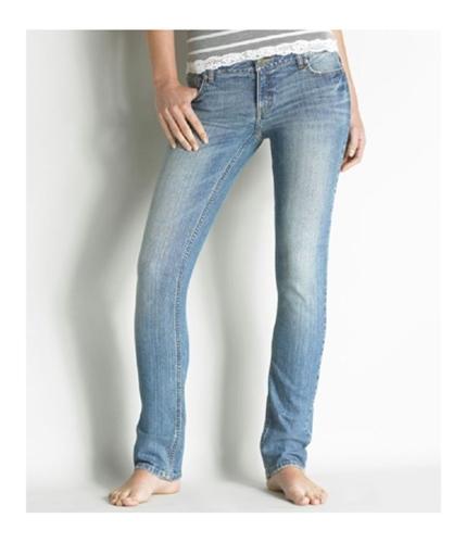 Aeropostale Womens Bayla Low Rise Skinny Fit Jeans medium 00x32