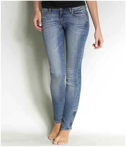 Aeropostale Womens Ultra Stretch Skinny Fit Jeans medium 0x32