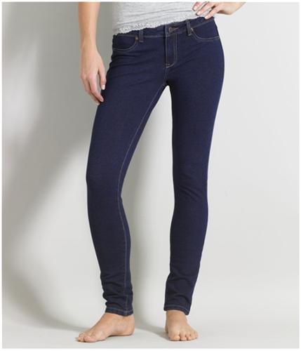 Aeropostale Womens Jeggins Legging Skinny Fit Jeans dark XS/32