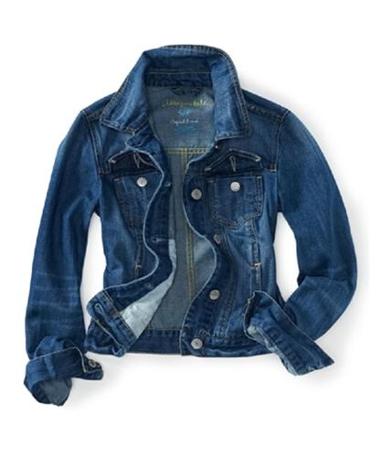 Aeropostale Womens Denim Jean Jacket 983 XL