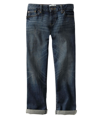 Aeropostale Womens 5 Pocket Regular Fit Jeans pompanoblue 0x24