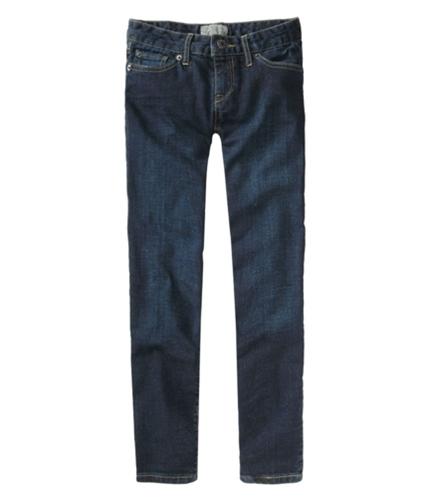 Aeropostale Womens Ashley Ultra Skinny Regular Fit Jeans gulfdenimblue 00x24