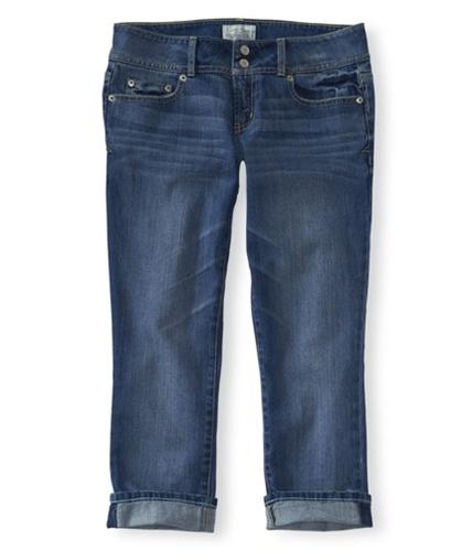 Aeropostale Womens Med Wash Regular Fit Jeans 962 00x24