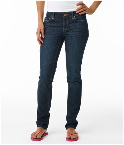 Aeropostale Womens Curvy Skinny Fit Jeans canoe 00x30