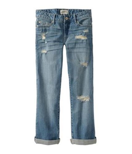 Aeropostale Womens 5 Pocket Denim Skinny Fit Jeans ltwashblue 11/12x32