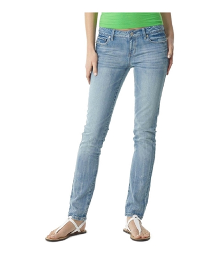 Aeropostale Womens Low Rise Signature Skinny Fit Jeans 176 00x32