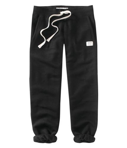 Aeropostale Womens Cinch Ankle Lengthlounge Casual Sweatpants black XS/32